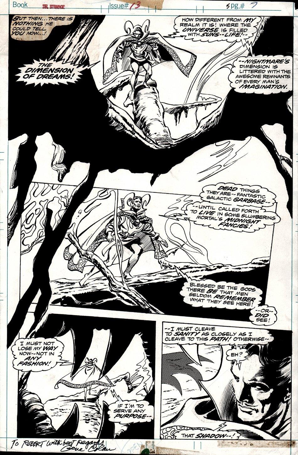 Doctor Strange #13 p 7 (1975)