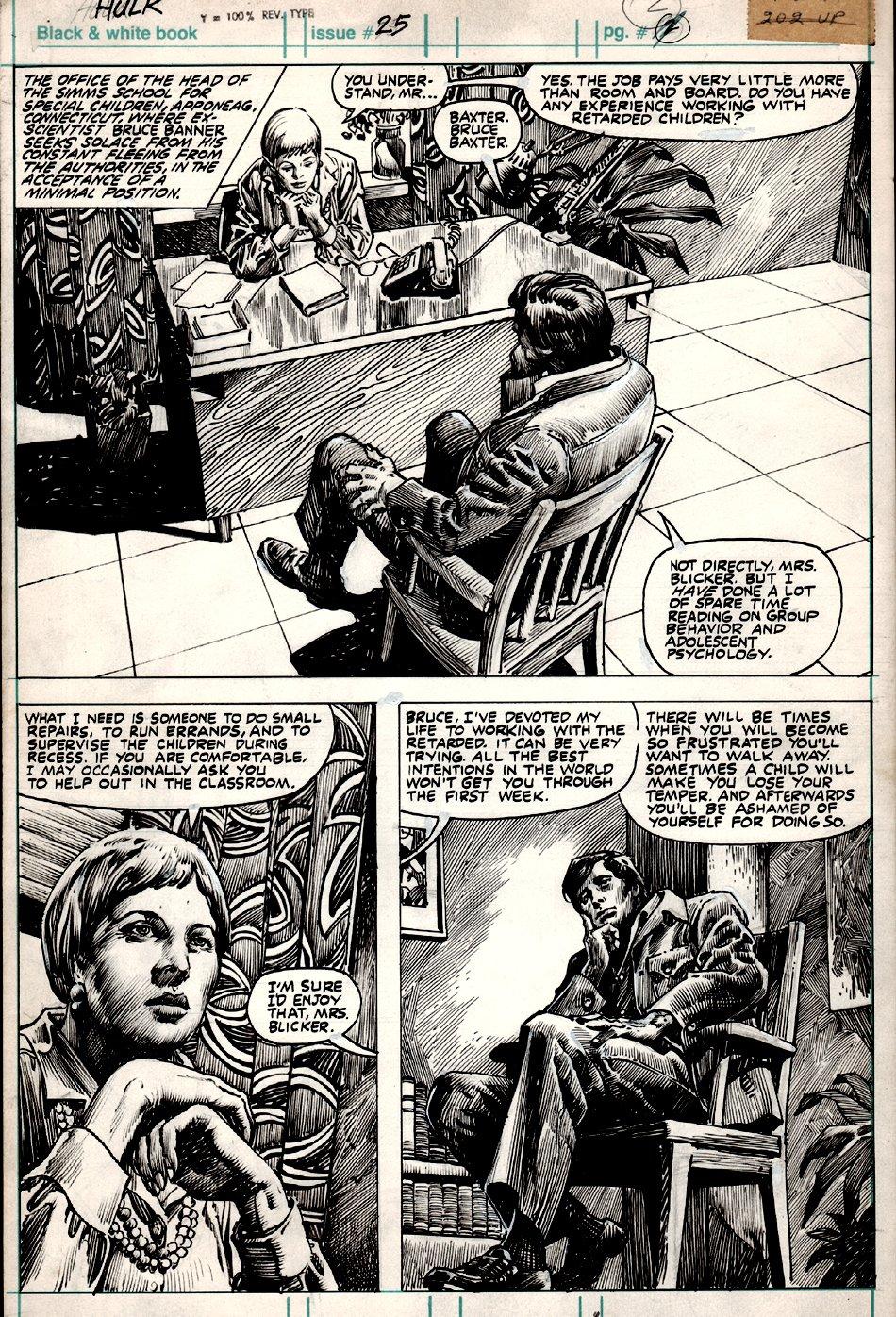 Hulk Magazine #25 p 2 (1980)