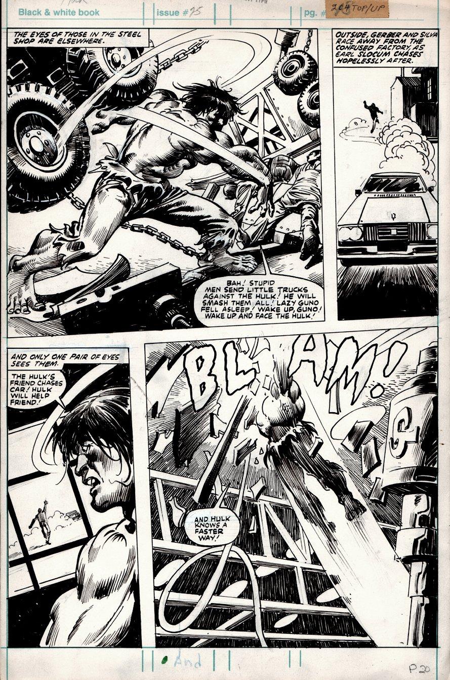 Hulk Magazine #25 p 20 (1980)