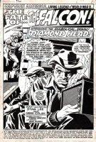 Captain America #126p 1 SPLASH (1969) Comic Art