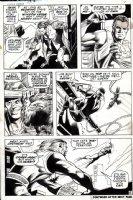 Captain America #137 p 6 (Everett Inks, Spider-Man Appearance) 1970 Comic Art