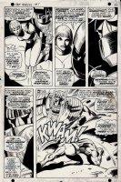 Captain Marvel #1 p 8 (1967) Comic Art