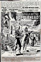Daredevil #124 p1 SPLASH (1975)  Comic Art