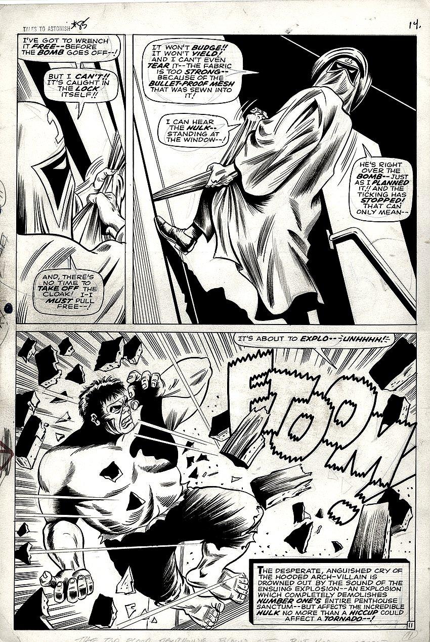 Tales to Astonish #85 p 11 Semi-SPLASH (LARGE ART) 1966