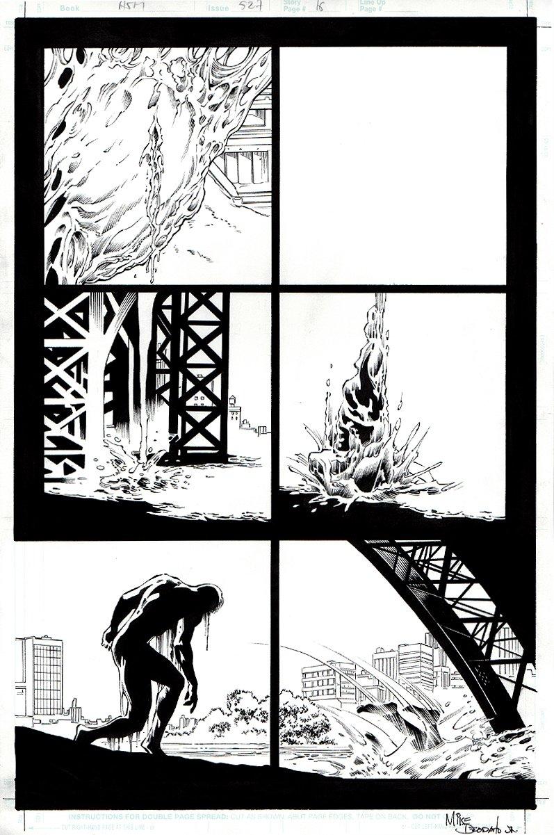 Amazing Spider-Man #527 p 16 (2005)