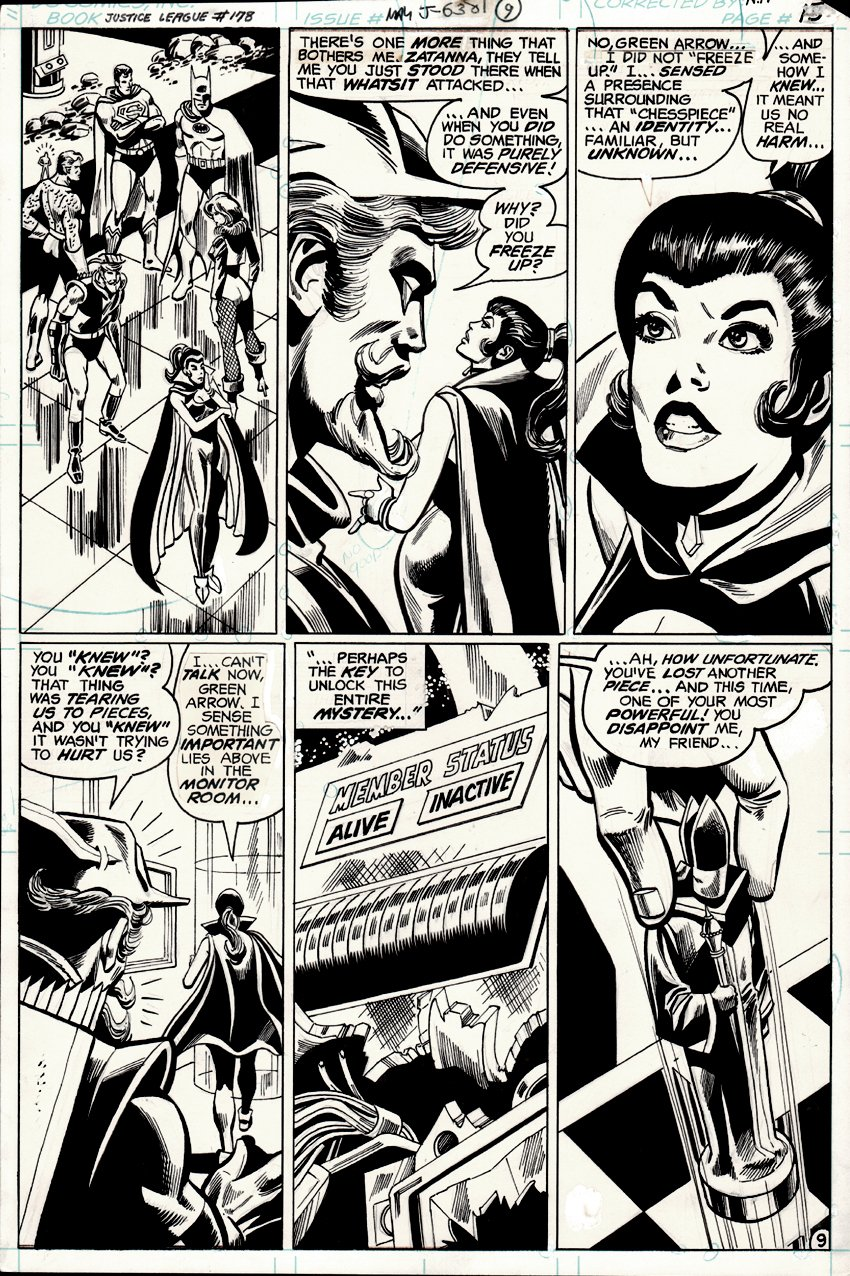 Justice League of America #178 p 9 (1980)