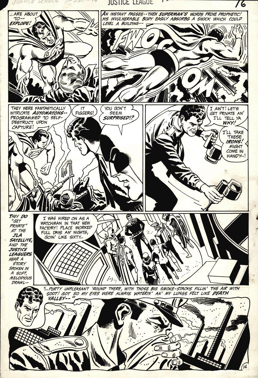 Justice League of America #78 p 14 (1969)