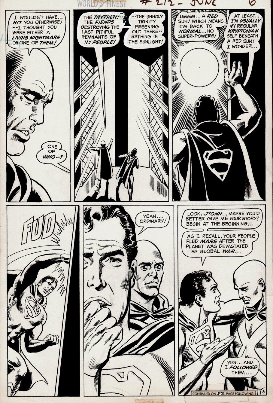 World's Finest Comics #212 p 6 (1972)