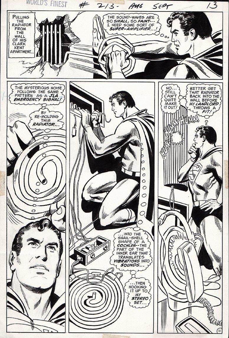 World's Finest Comics #213 p 11 (1972)