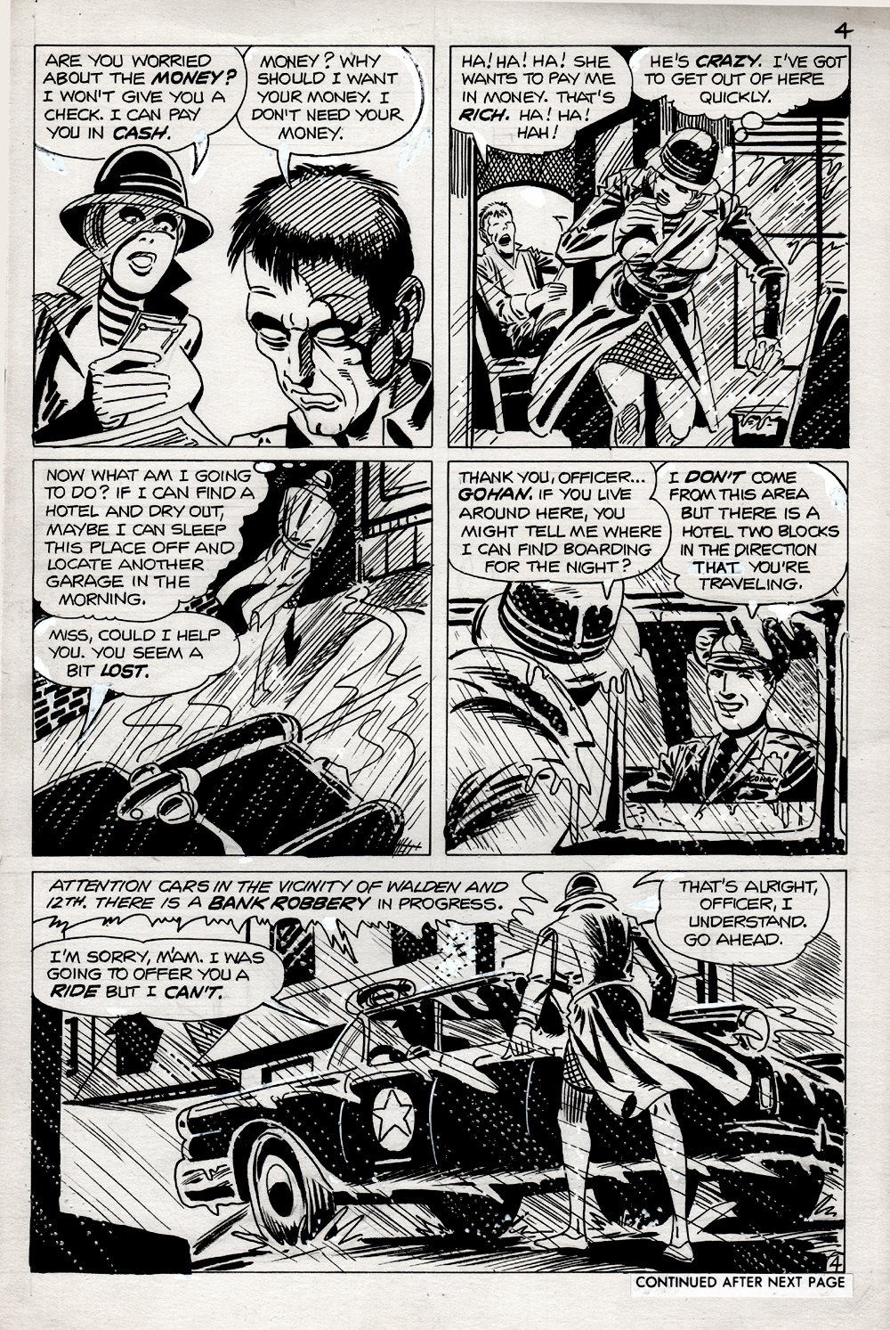 Haunted #36 p 4 (PENCILS AND INKS DITKO!) 1978