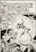 Captain Atom #80 Cover (LARGE ART) 1965 Comic Art