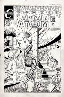 Captain Atom #90 Cover (LARGE ART) 1967 Comic Art