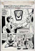 What Is...The Face? #3 p 1 SPLASH (1987) Comic Art