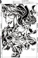 Wildcats Sourcebook Cover (1994) Comic Art
