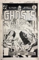 Ghosts #53 Cover (1976) Comic Art