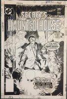 Secrets of Haunted House #9 Cover (1977) Comic Art