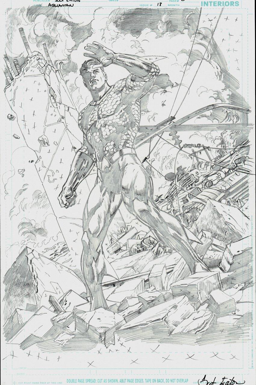Aquaman #18 p 2 SPLASH (2017)
