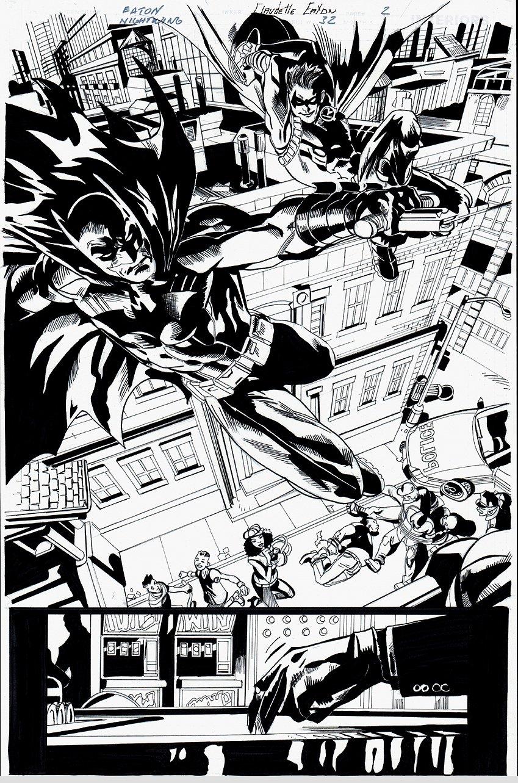 Nightwing #32 p 2 SPLASH (2017)