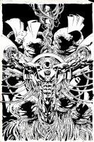 X-O Manowar #12 Cover (1997) Comic Art