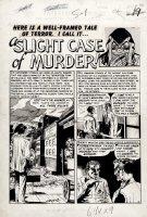 Vault of Horror #33 p 1 SPLASH (Large Art) 1953 Comic Art