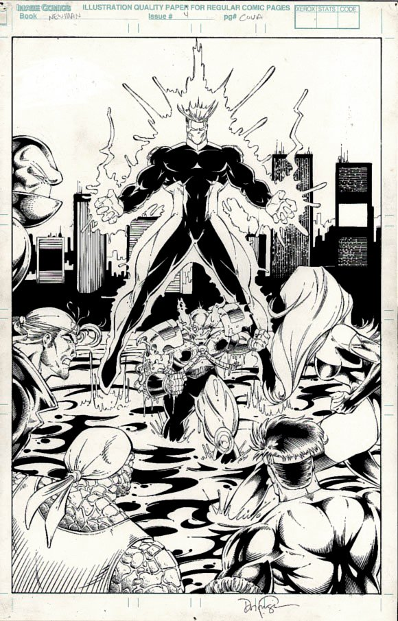 Newman #4 Cover (1996)
