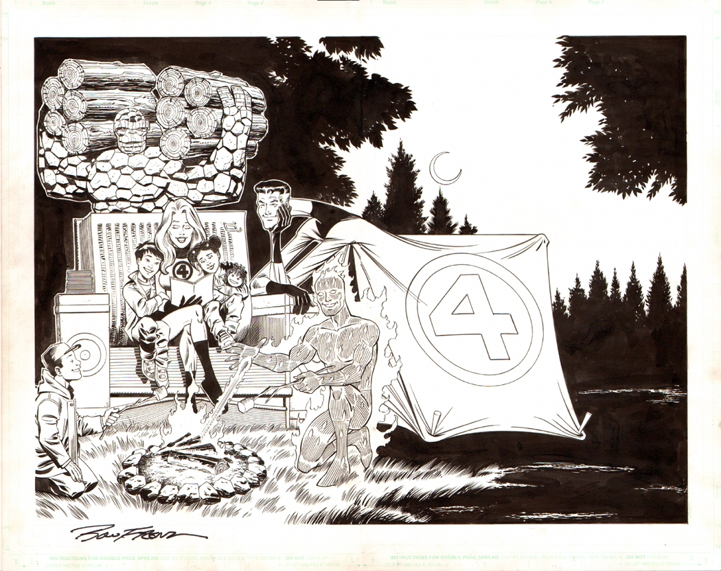 Fantastic Four: Home Depot Wraparound Cover