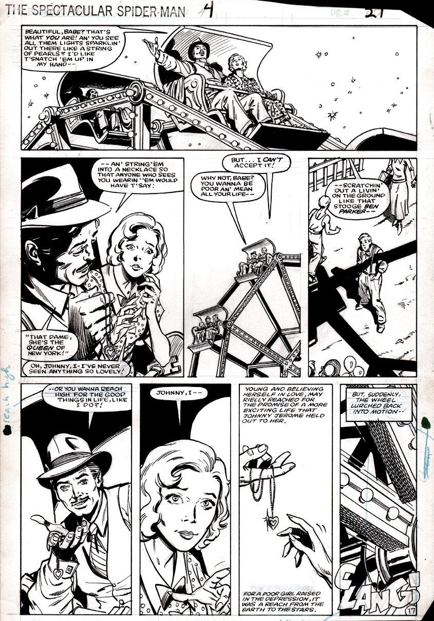 Spectacular Spider-Man Annual #4 p 17 (1984)
