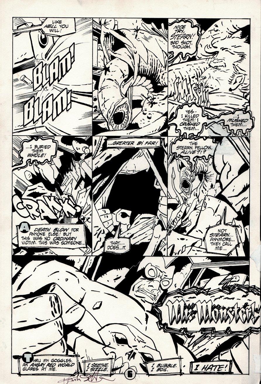Mr. Monster #6 p 6 (1986)