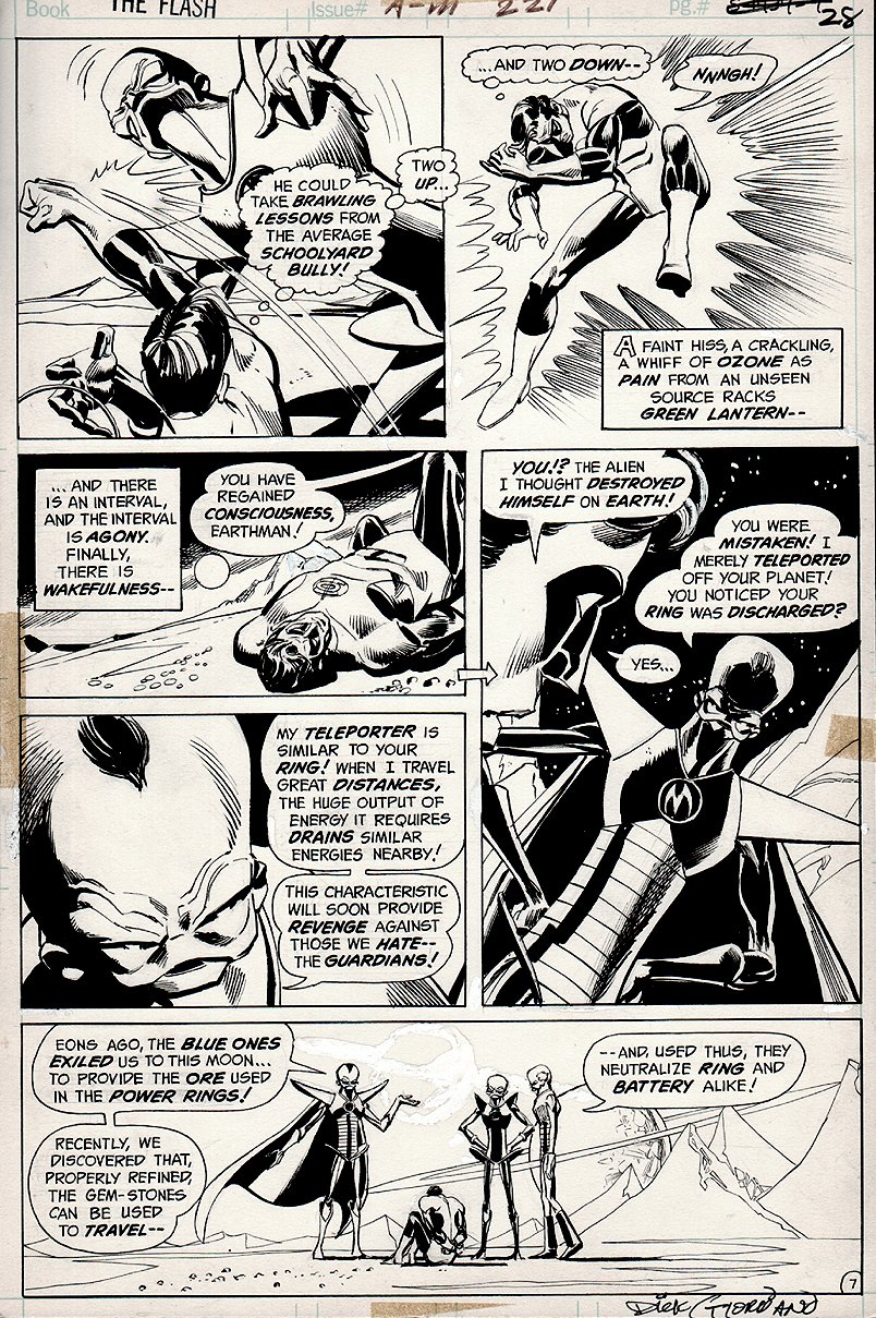 Flash #221 p 7 (1972)
