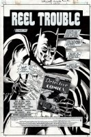 Batman: Hollywood Knight #3 p 1 SPLASH (2001) Comic Art