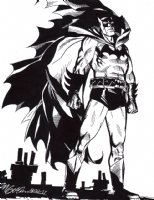 Batman: Year One - Pinup (2011) Comic Art