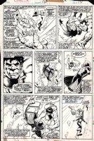 Defenders #54 p 14 (1977) Page d Comic Art