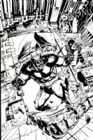 X-Men Published Poster Art (1991) Comic Art