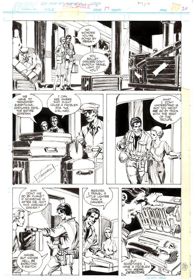 Jon Sable Freelance #17 p 18 (1984)