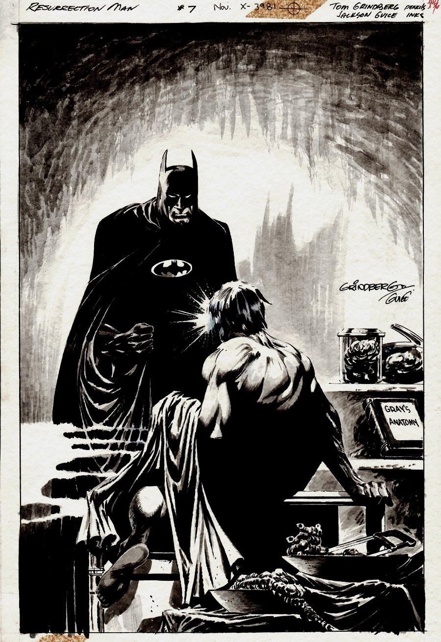 Resurrection Man #7 Cover (1997)