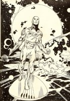 Silver Surfer Pinup (2003) Comic Art
