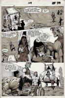 Savage Sword of Conan #149 p 39 (1988) Comic Art