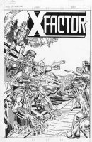 X-Factor #9 Unpublished Cover � Comic Art
