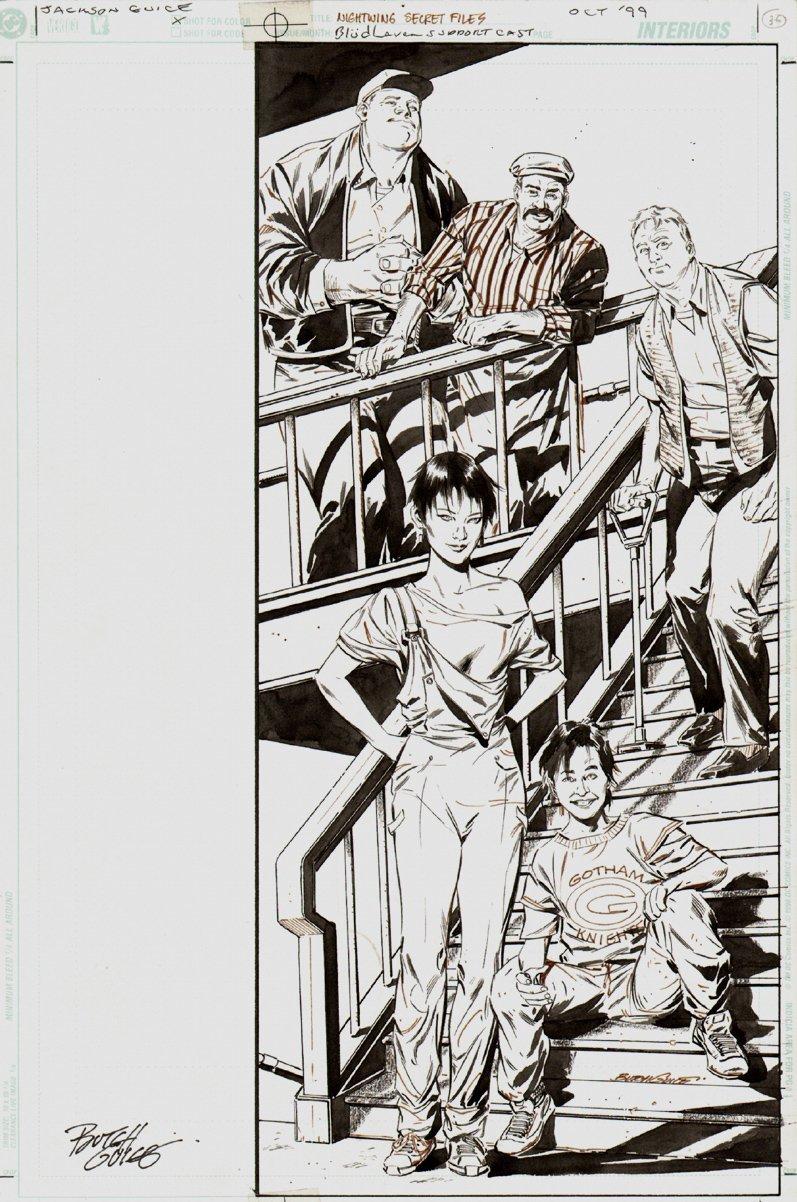 Nightwing Secret Files #1 p 35 SPLASH