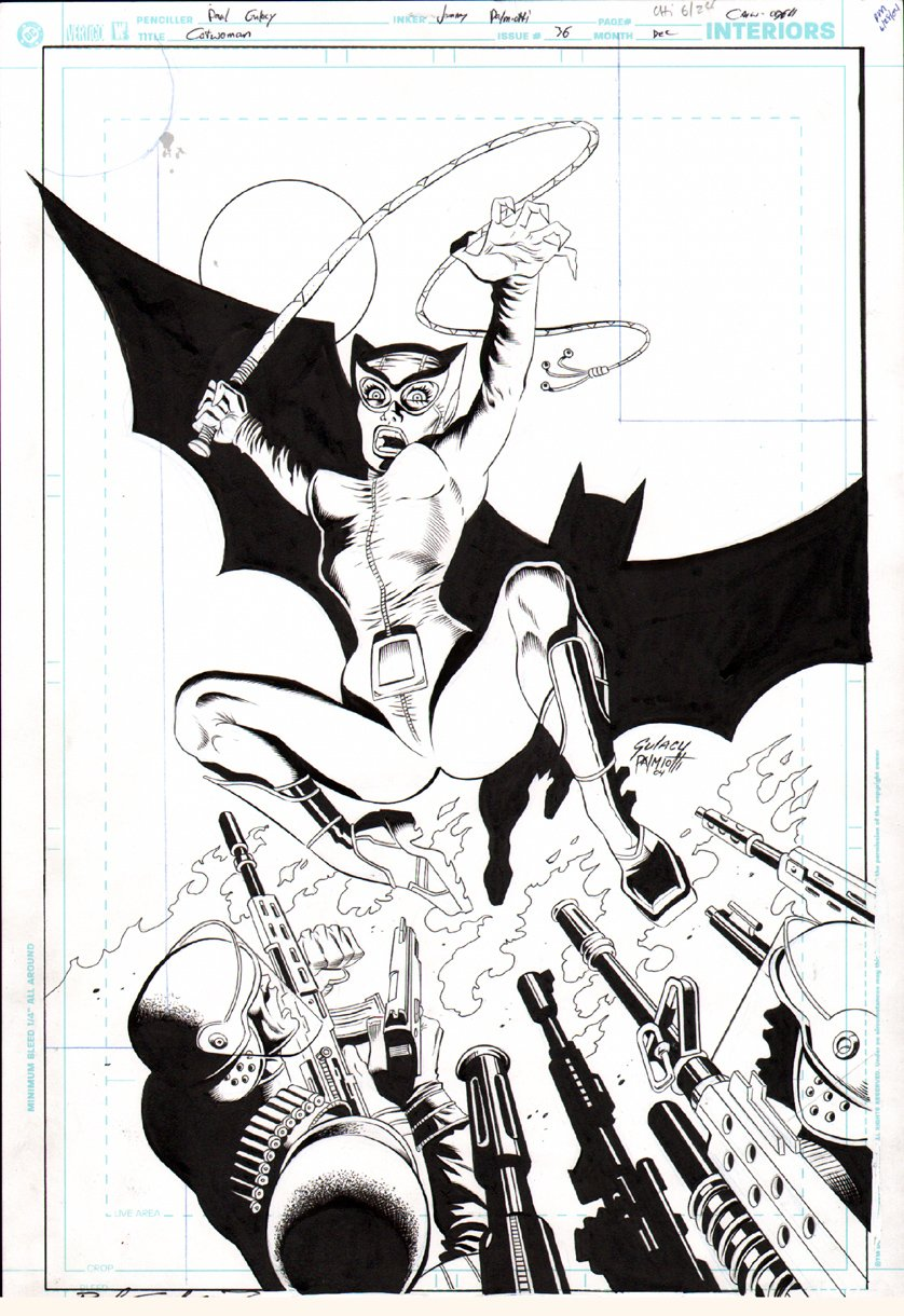 Catwoman #36 Cover (2004)