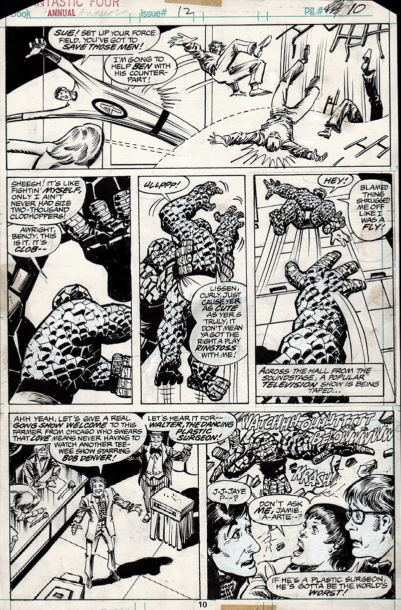 fantastic Four Annual #12 p 10 (1977)