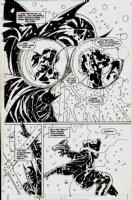 Batman: DOA Page 56 (SPLASH) Comic Art