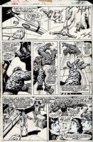 fantastic Four Annual #12 p 10 (1977) Comic Art
