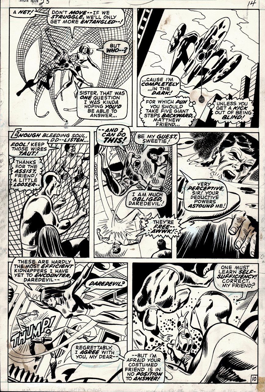 Iron Man #35 p 10 (1970)