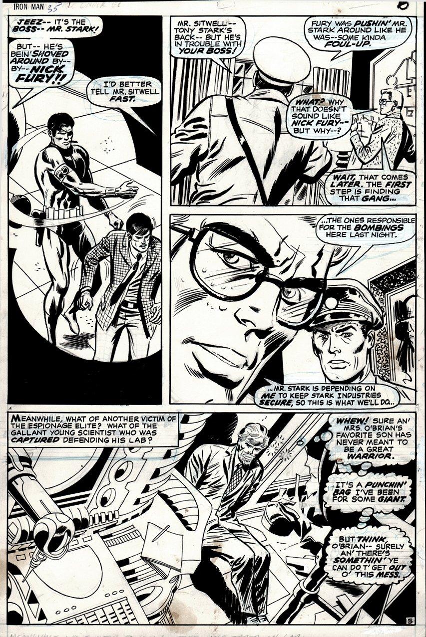 Iron Man #34 p 5 (1970)
