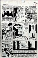 Avengers #26 p 20 (Large Art) 1965 Comic Art