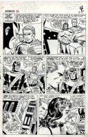 Avengers #26 p 4 (Large Art) 1965 Comic Art