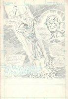 Flash #282 p 1 FULLY PENCILED SPLASH (1979) Comic Art