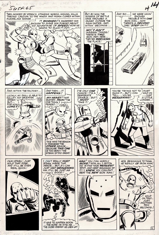 Tales of Suspense #65 p 11 (Large Art) 1964