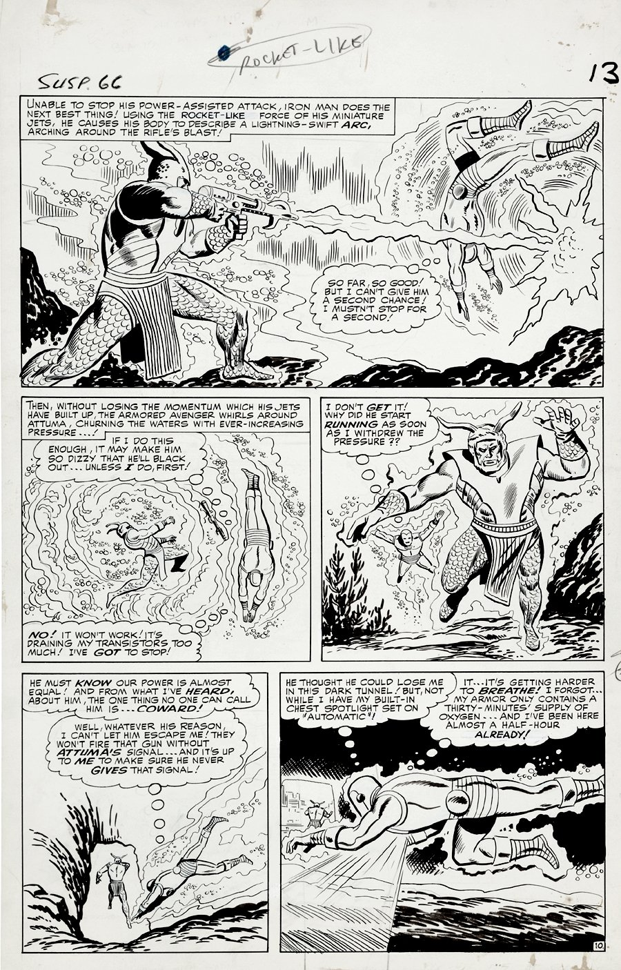 Tales of Suspense #66 p 10 (Large Art) 1964